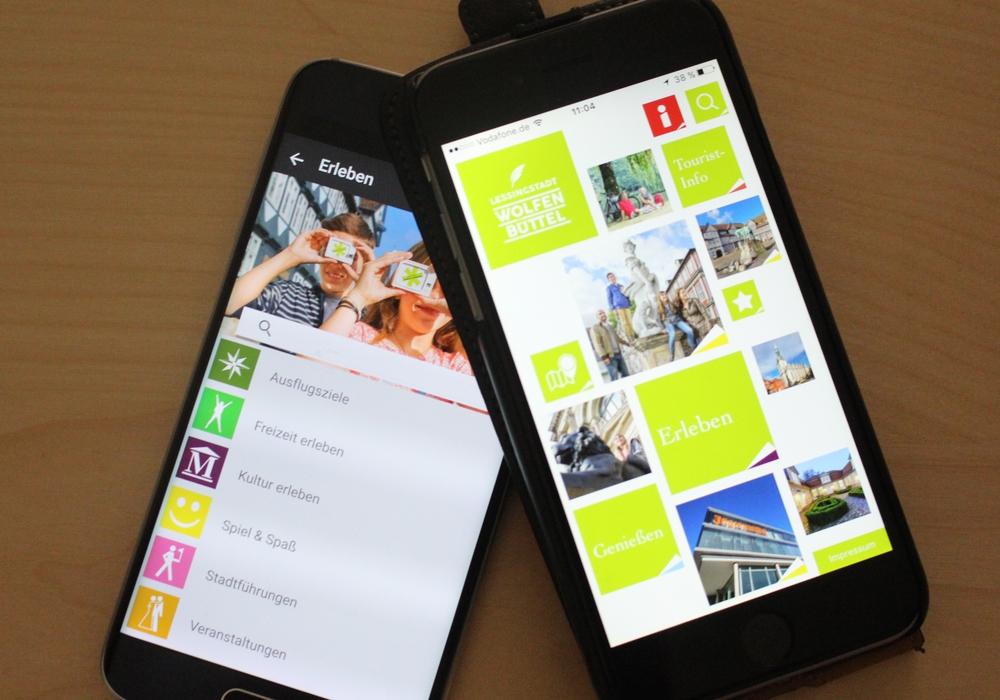 Die Wolfenbüttel App gibt einen Überblick über die Sehenswürdigkeiten und Freizeitmöglichkeiten. Foto: Jan Borner