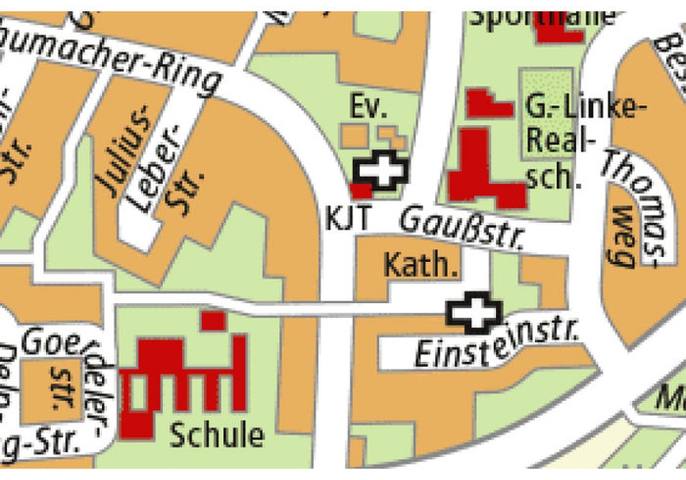 Der Kurt-Schumacher-Ring wird halbseitig gesperrt. Foto: Stadt Salzgitter