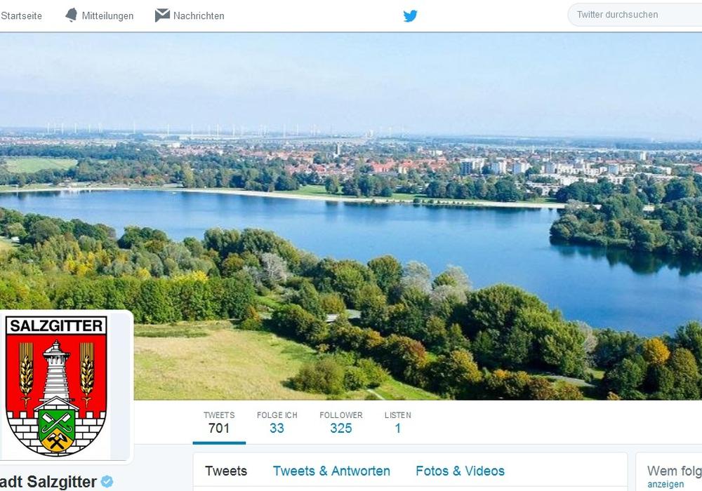Die Stadt freut sich über viele Follower. Foto: Stadt Salzgitter