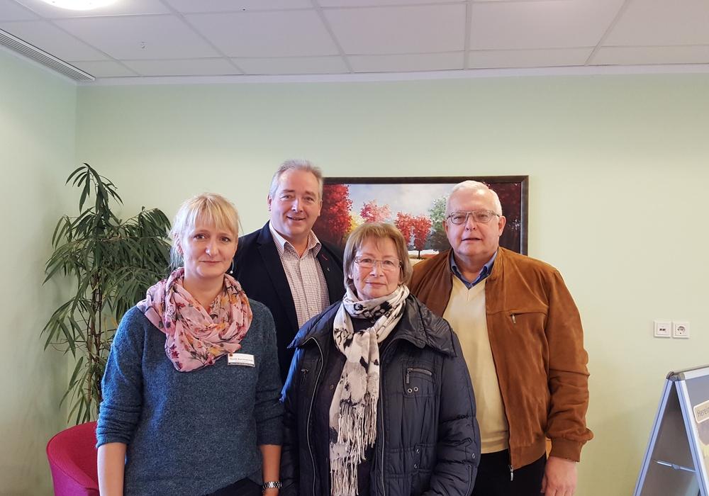 Von links: Nicole Kaczmarczyk, Frank Oesterhelweg, Elke Großer und Klaus Hantelmann. Foto: CDU