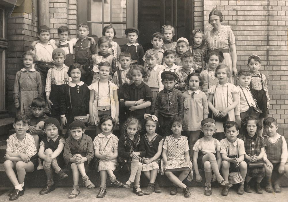 Breslau Juedische Schulklasse1938-2 Foto: Karin Kaper Film
