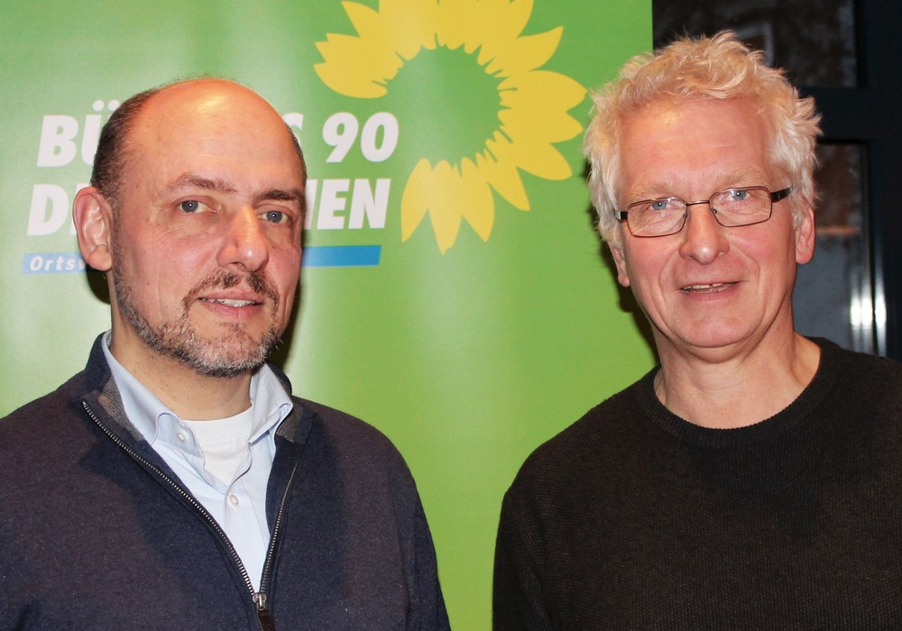 Prof. Dr. Reinhard Gerndt und Holger Barkhau. Foto: Grüne