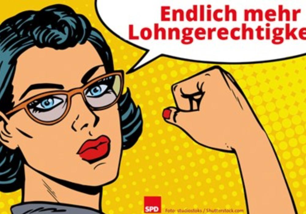 Organisiert wird die Veranstaltung von der Arbeitsgemeinschaft Sozialdemokratischer Frauen des Bezirks Braunschweig. Foto: Flyer SPD