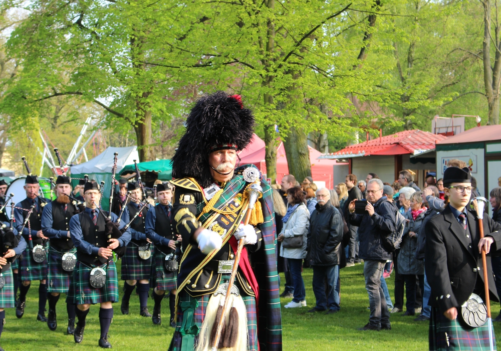 Highland Gathering findet an diesem Wochenende wieder in Peine statt. Foto: Frederick Becker