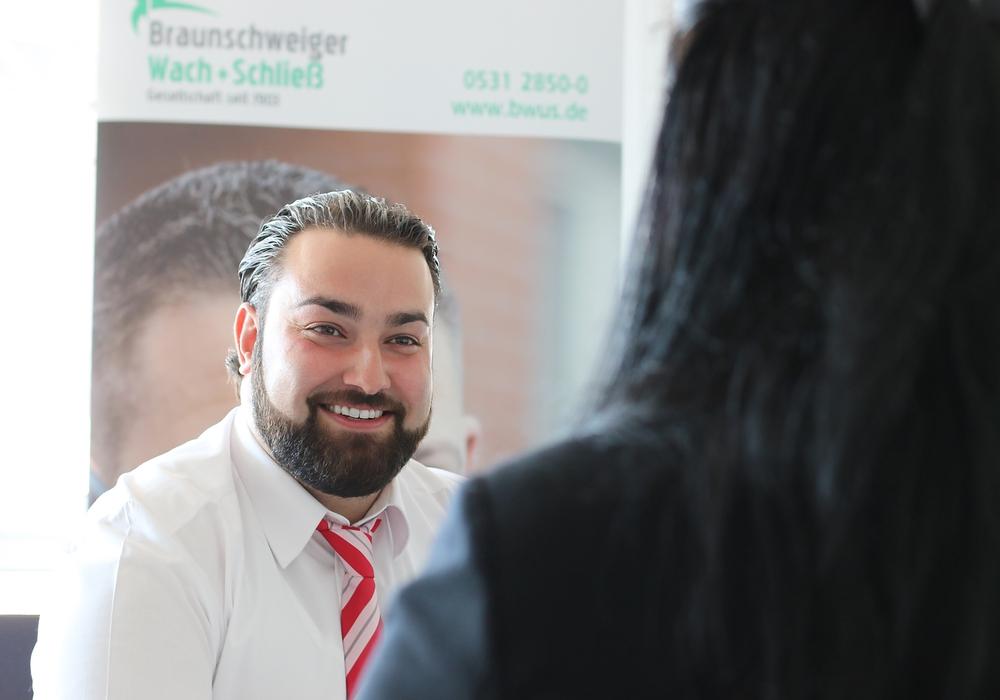 Turgay Baloglu von der Braunschweiger Wach+Schließ Gesellschaft. Foto: Stefan Freydank