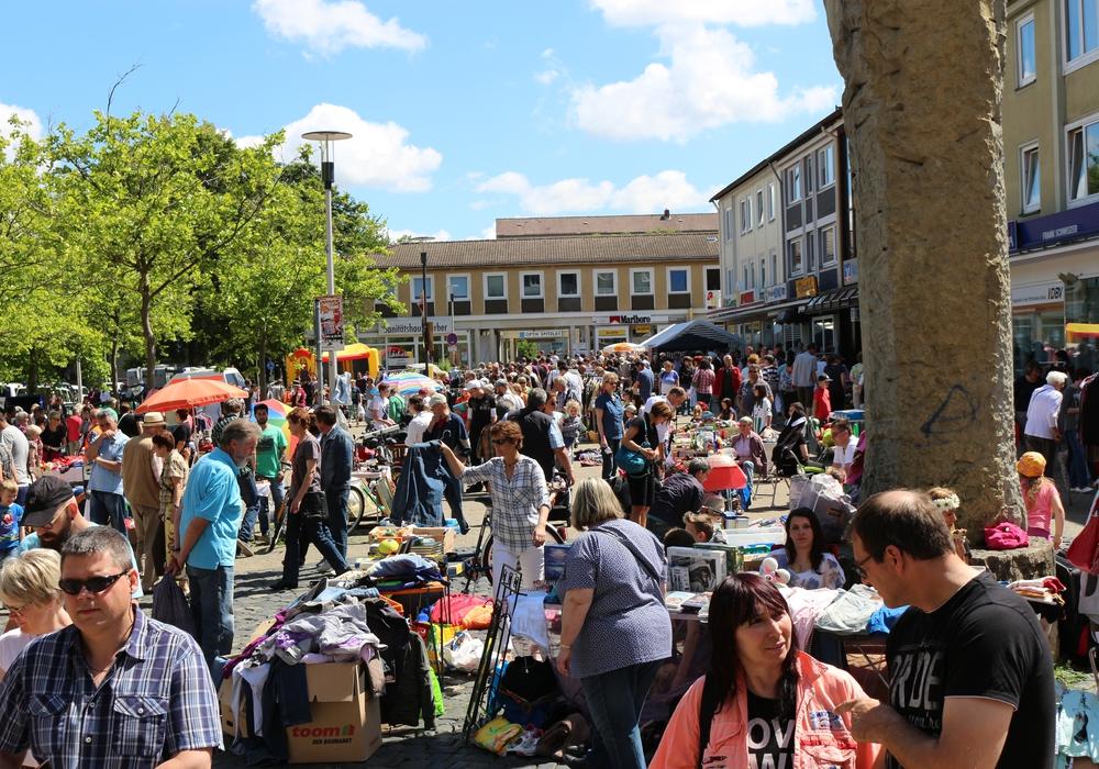 Der Flohmarkt ist meist gut besucht. Foto: CDU