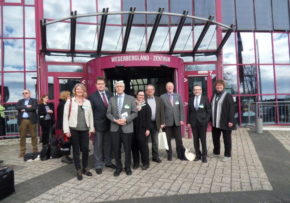 Gruppenfoto bei der Städteversammlung in Hameln. Foto: Stadt Peine