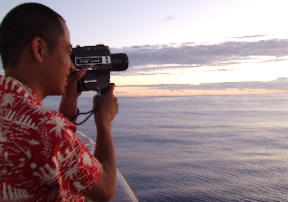 Takashi Kunimoto begleitete die Überlebenden der Atombomben auf einer interkontinentalen Schiffsreise. Foto: Veranstalter