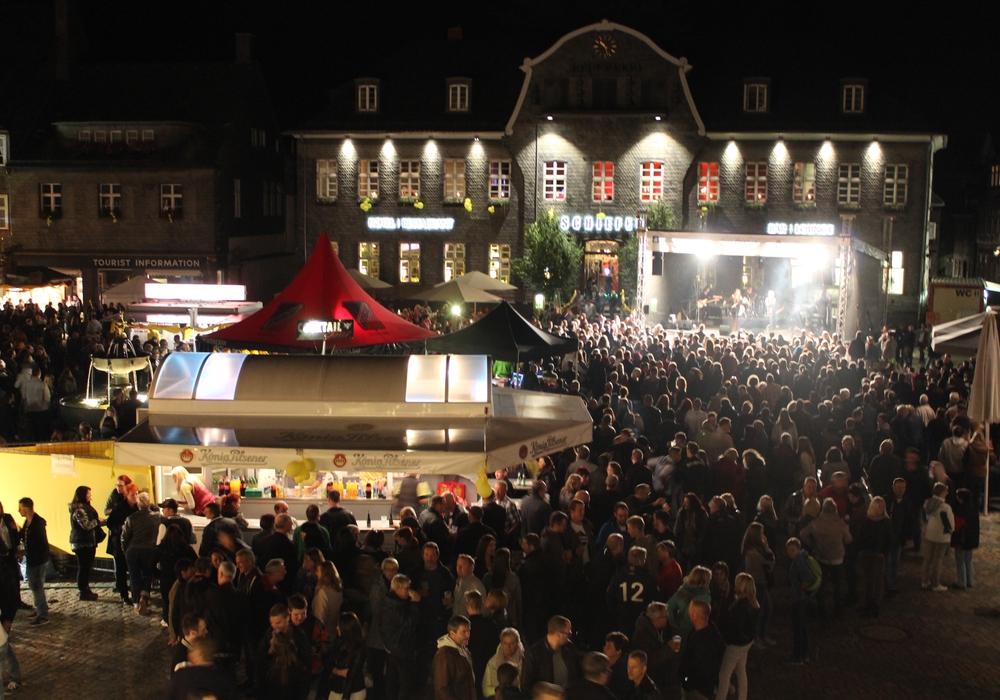Das Altstadtfest in Goslar findet am Wochenende statt. Foto: Anke Donner