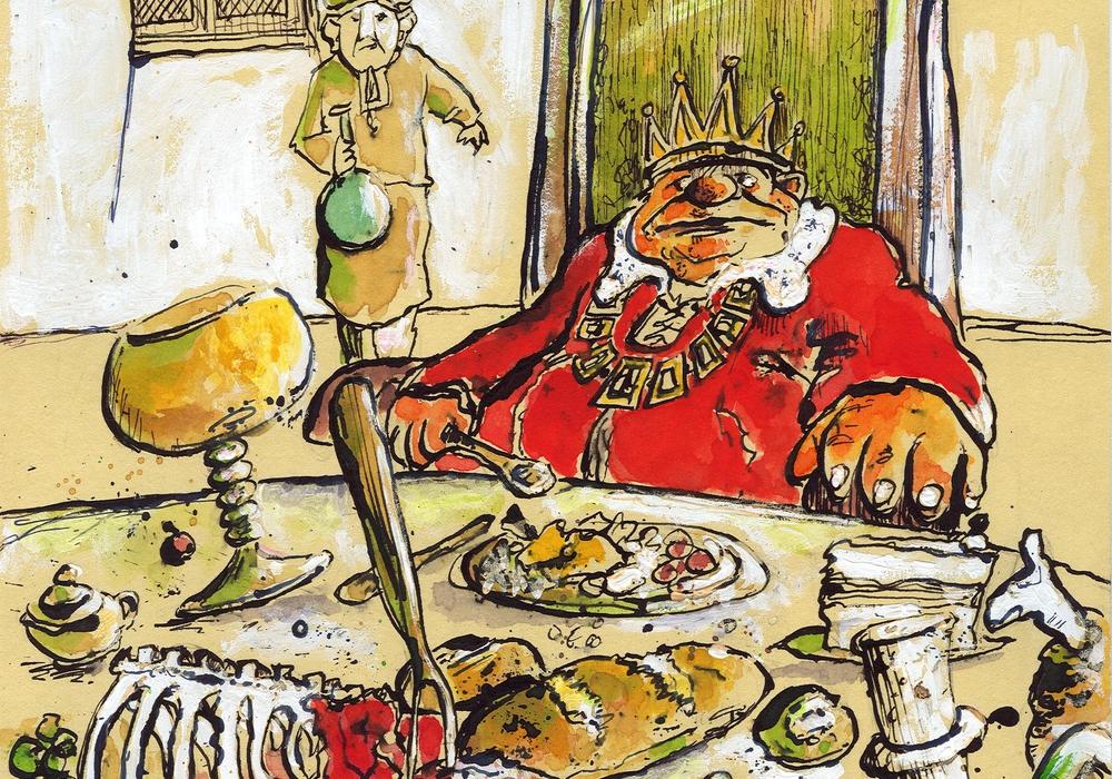 """""""Illustration und Zeichnung"""" zeigt der Künstler Caspar Michael Kusmier in der Hornburger Museumsgalerie. Foto: Veranstalter"""