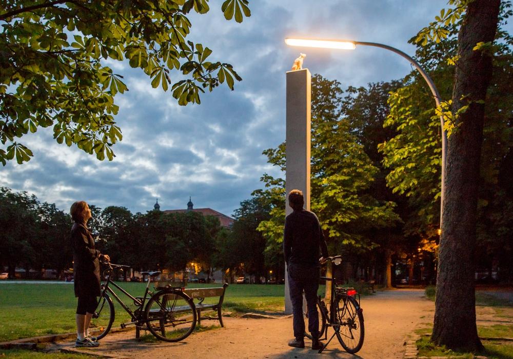 Noch drei Wochen Lichtparcours. Foto: Braunschweig Stadtmarketing GmbH / Marek Kruszewski