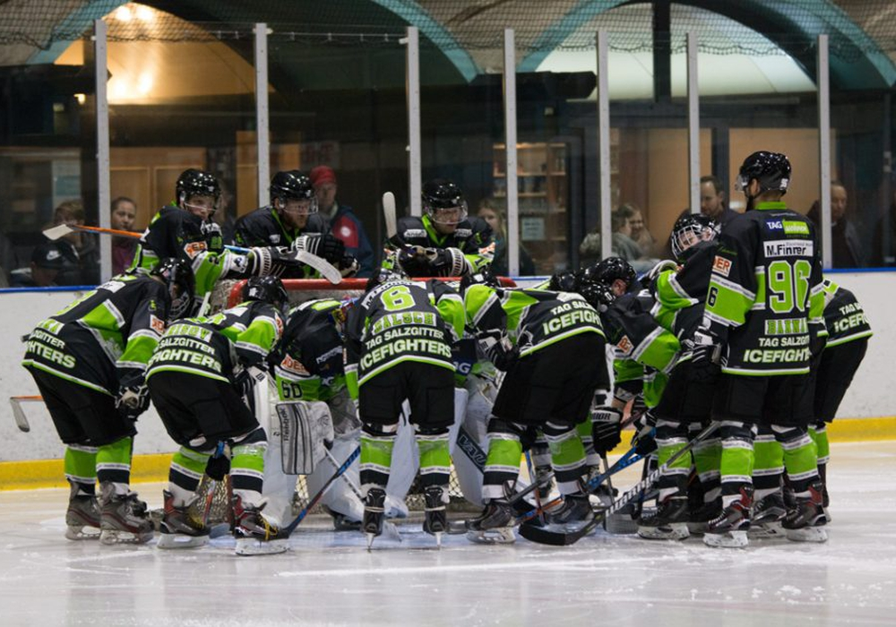 In Niesky kamen die Icefighters unter die Räder. Foto: Jens Bartels/Archiv