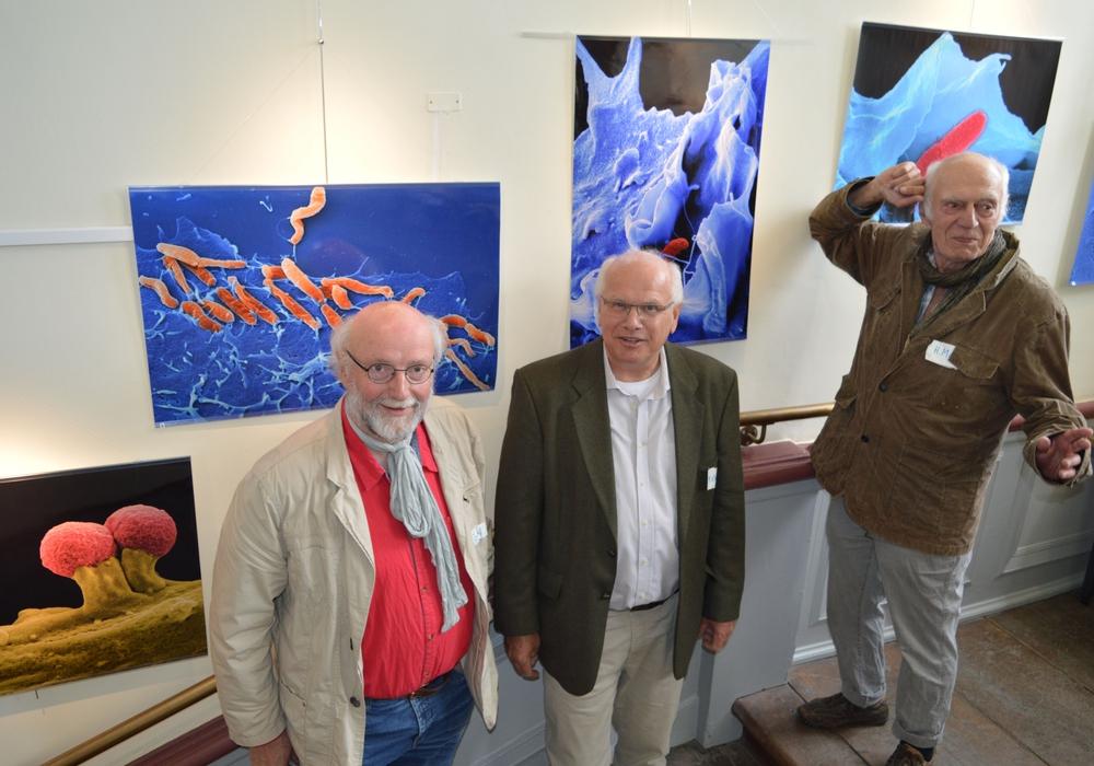 Heinrich Lünsdorf, Manfred Rohde, Hubert Mayer (v. li.). Foto: Richert