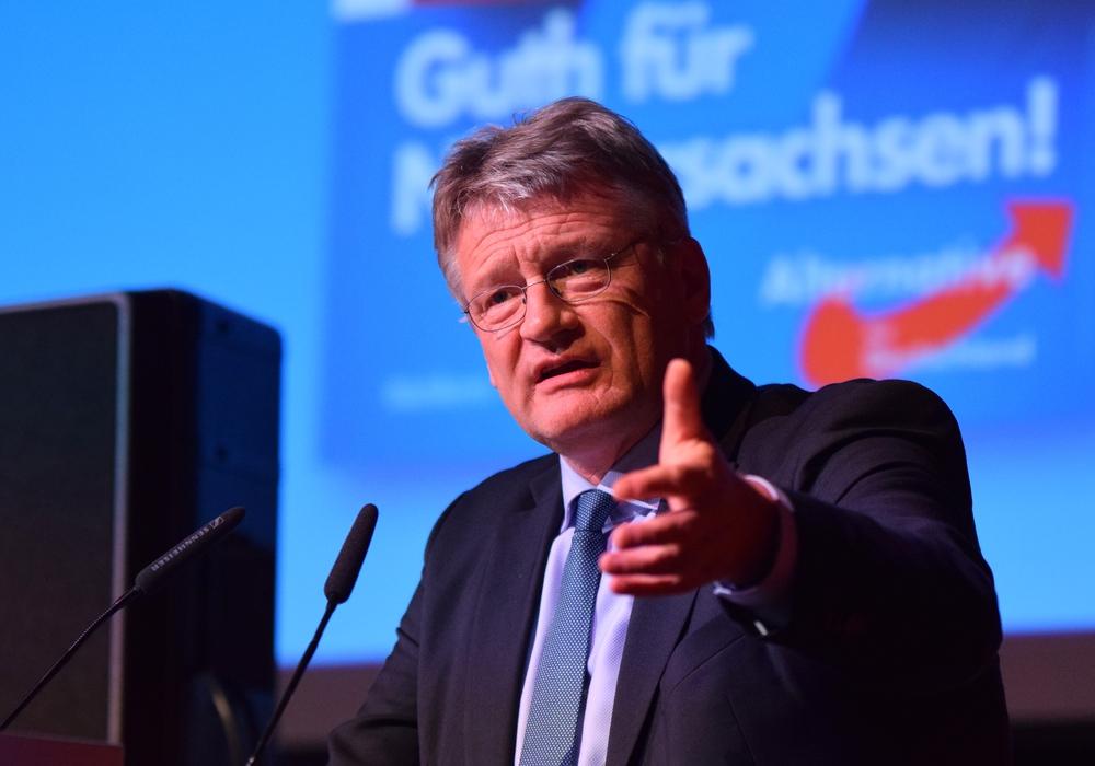 Jörg Meuthen sollte auf der AfD-Veranstaltung in Salzgitter Redner sein. Nun fällt die Veranstaltung aus.