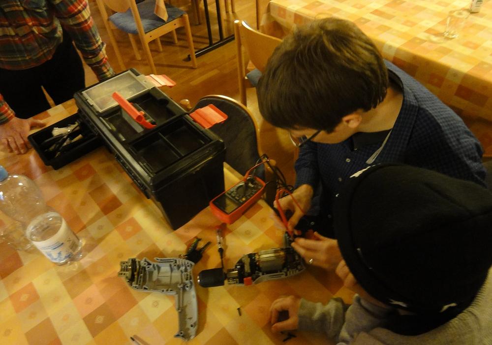 Nächstes Reparaturcafé in Braunschweig am 10. März. Foto: Freiwilligenagentur