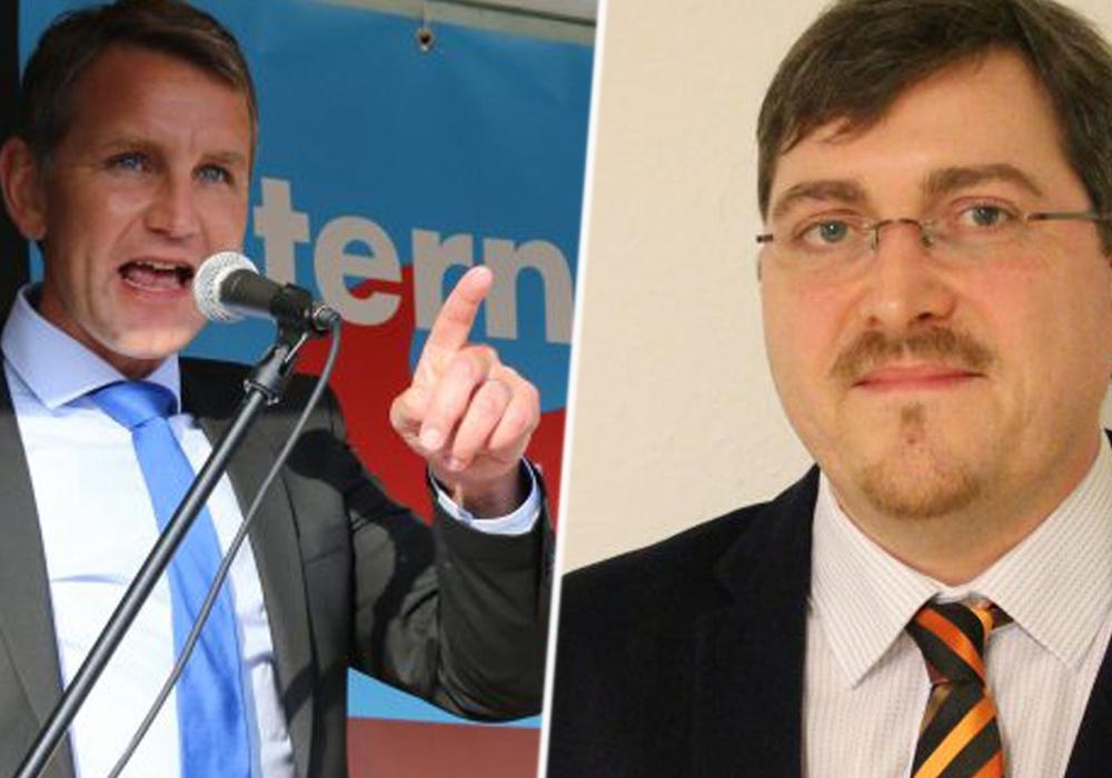 Die umstrittene Höcke-Rede beschäftigt die AfD in Wolfsburg. Foto: Werner Heise / Magdalena Sydow