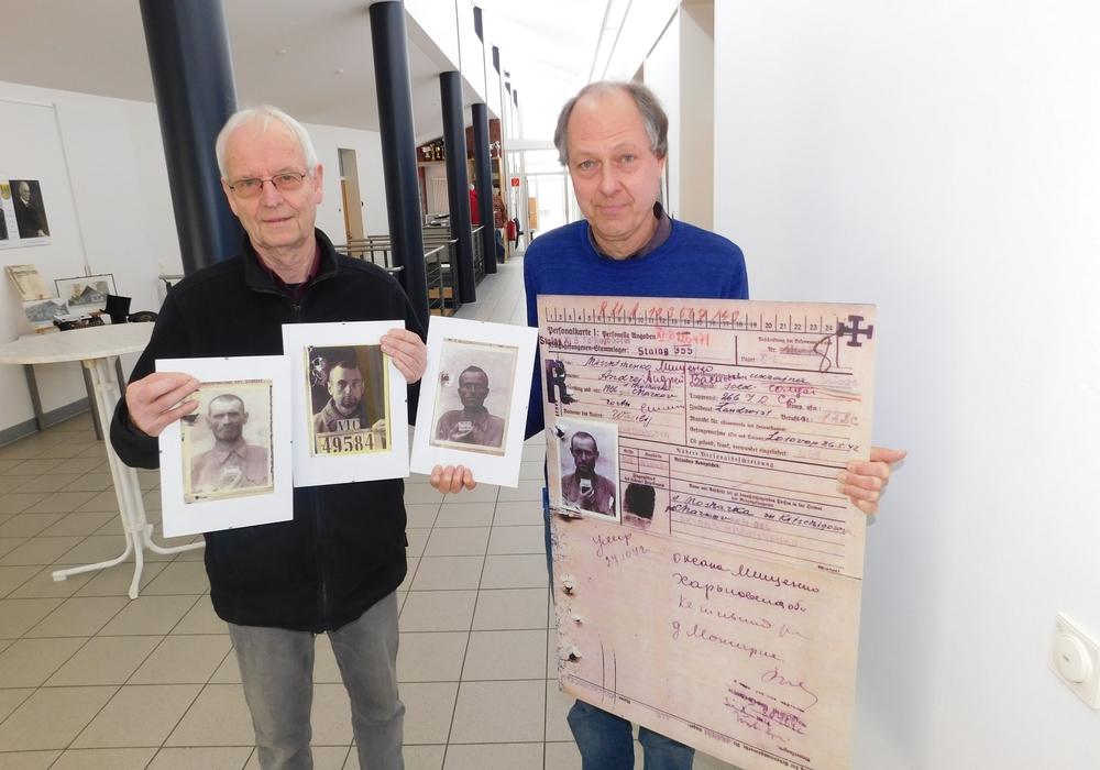 Die Initiatoren Jens Dürrkopf und Uwe Otte. Foto: Gemeinde Lehre
