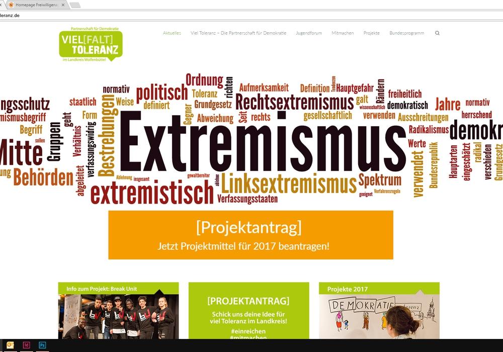 Auf der neuen Internetseite der Partnerschaft für Demokratie im Landkreis Wolfenbüttel www.vieltoleranz.de können Vereine, Initiativen und Einzelpersonen sich ab sofort bewerben und finanzielle Förderung für ihr Projekt erhalten. Foto: Freiwilligenagentur Jugend-Soziales-Sport e.V.