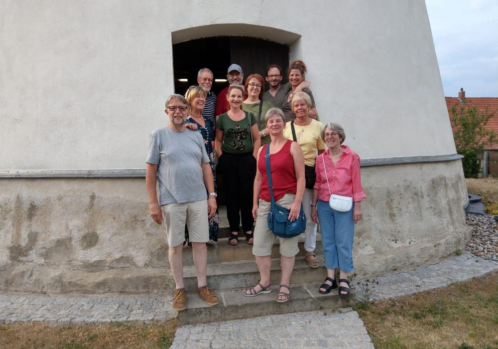 Besuch in der Windmühle in Wendhausen. Foto: Gemeinde Lehre