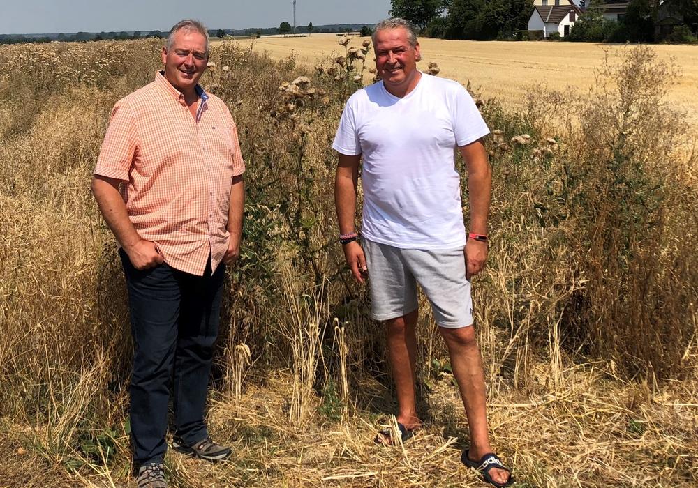 Frank Oesterhelweg (l.) und Andreas Glier. Foto: Privat
