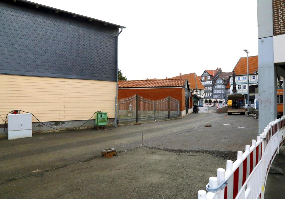 In der Löwenstraße wird kommende Woche eine provisorische Asphaltdecke gezogen. Foto: Stadt Wolfenbuettel/rae