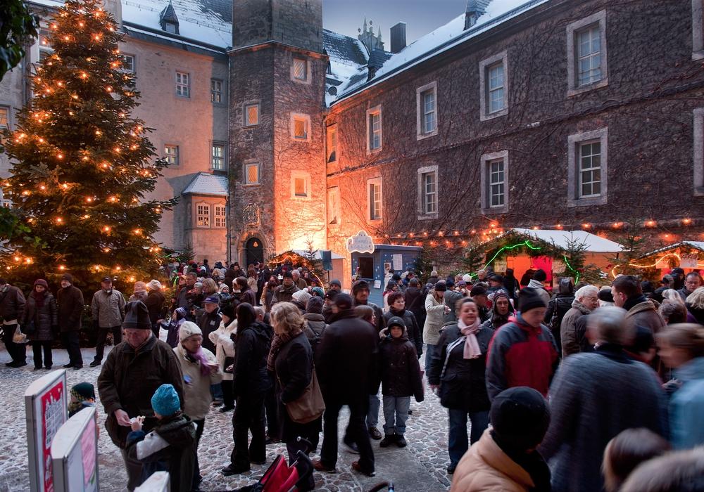 Der Weihnachtsmarkt feiert sein 20. Jubiläum. Foto: Stadt Wolfsburg
