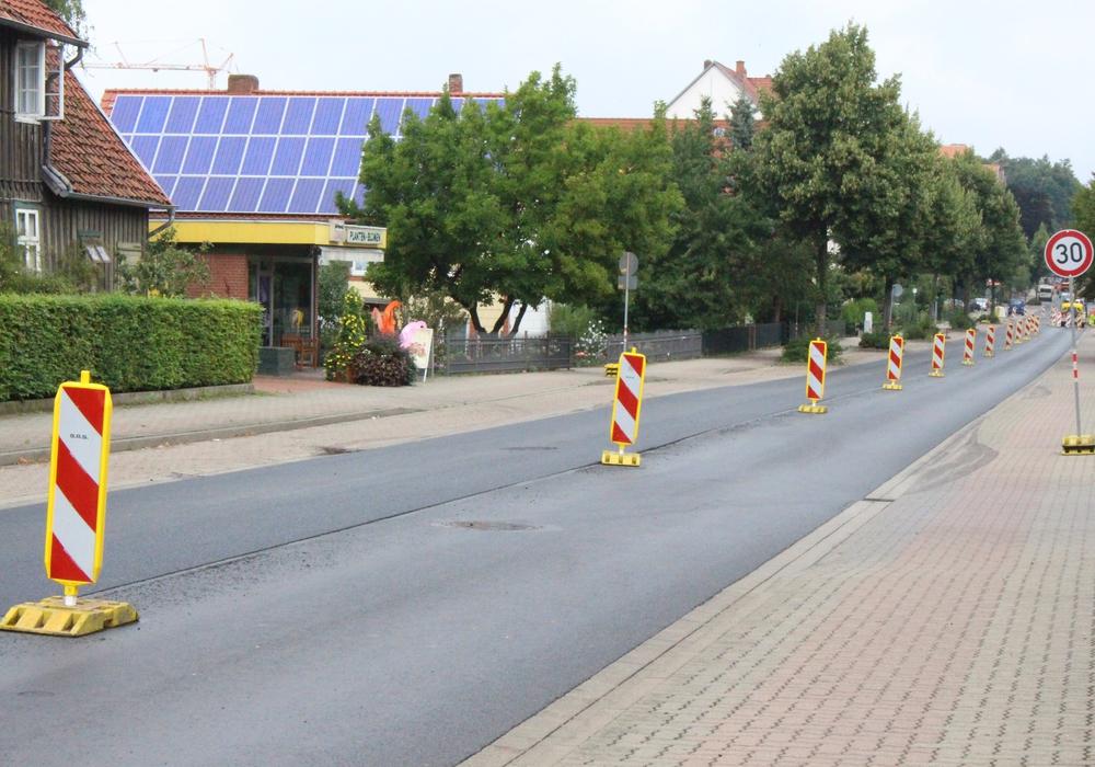 Bauarbeiten auf dem Neuen Weg vor dem Abschluss. Foto: Max Förster