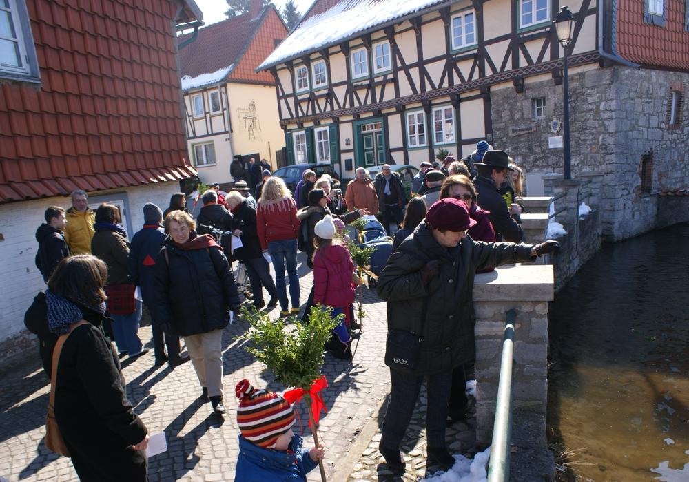 Am 17. April findet in Hornburg der Oster-Spaziergang statt. Foto: Anke Donner