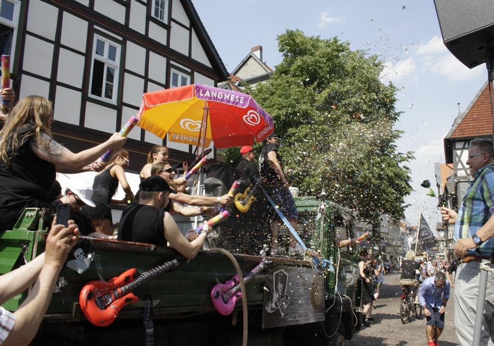 An diesem Wochenende startet das Goslarer Schützenfest. Symbolfoto: Werner Heise
