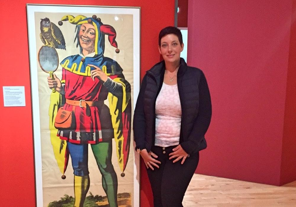 Sarah Grabenhorst-Quidde zu Besuch im Eulenspiegelmuseum. Fotos: CDU