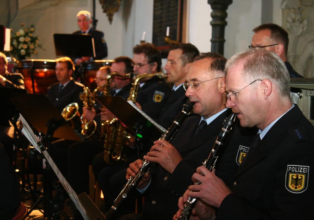 Im Rahmen der Feierlichkeiten zum 1000-jährigen Bestehens Langesheims, findet ein Benefizkonzert des Bundespolizeiorchester Hannover statt. Fotos: Anke Donner