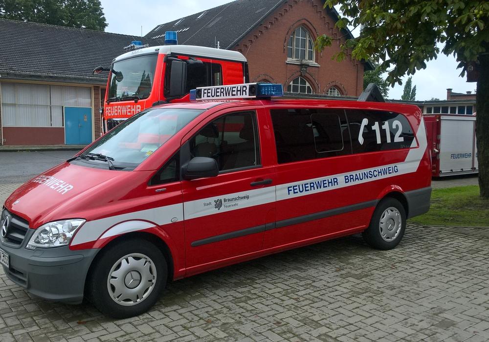 Das gestohlene Feuerwehrauto. Foto: Polizei