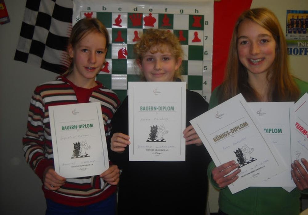 Mädchenpower beim Schach, Foto: privat