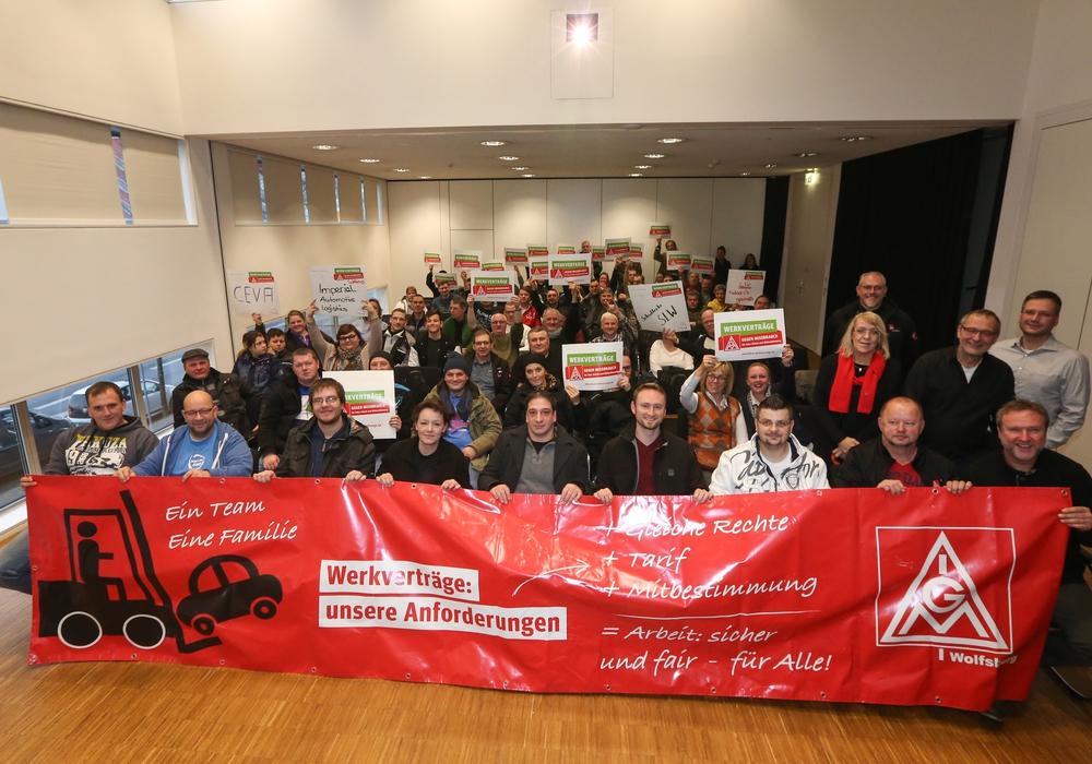 Pressegespräch zu Tarifabschlüssen der Kontraktlogistiker. Foto: Britta Schulze