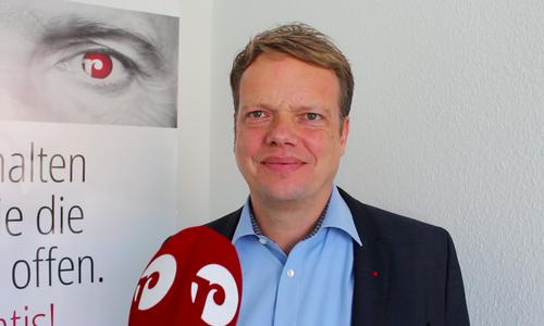 Ratsherr Christoph Bratmann. Archivbild