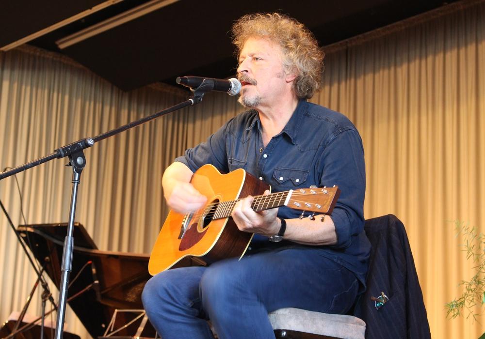 Wolfgang Niedecken sang nicht nur Lieder im kölschen Dialekt. Foto: Antonia Henker