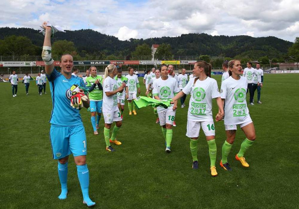 Wollen den erneuten Pokalsieg: VfL Wolfsburg-Frauen. Foto: imago/regios24