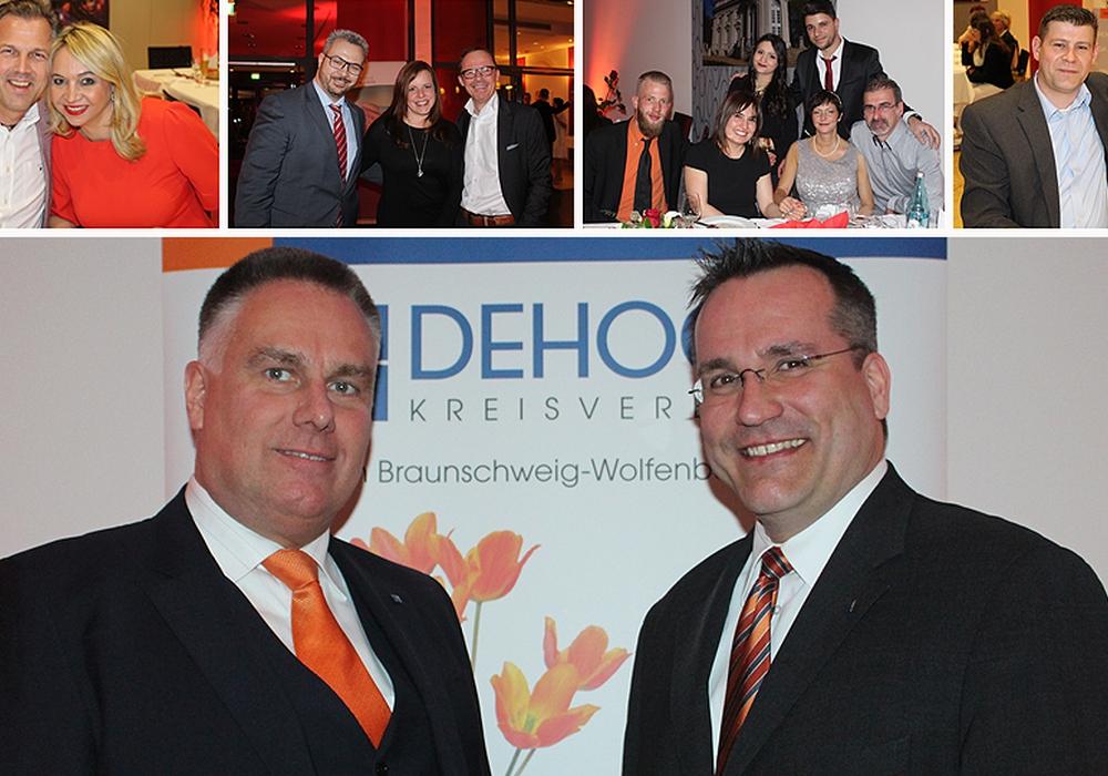 Carius Novàk, 1. Vorsitzender des DEHOGA-Kreisverband Region Braunschweig-Wolfenbüttel und Geschäftsführer Mark Alexander Krack begrüßten die Gäste. Fotos: Alexander Dontscheff/André Ehlers