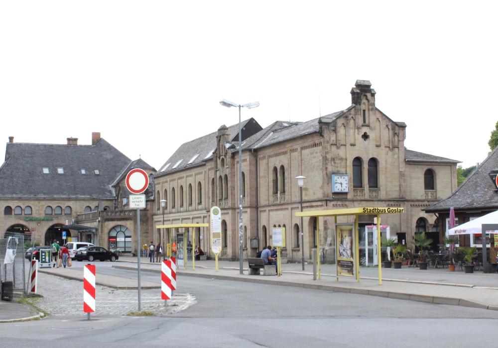 Der Bahnhofspplatz soll umbenannt werden. Die Bürgerliste Goslar findet diese Idee derzeit nicht gut. Foto: Anke Donner
