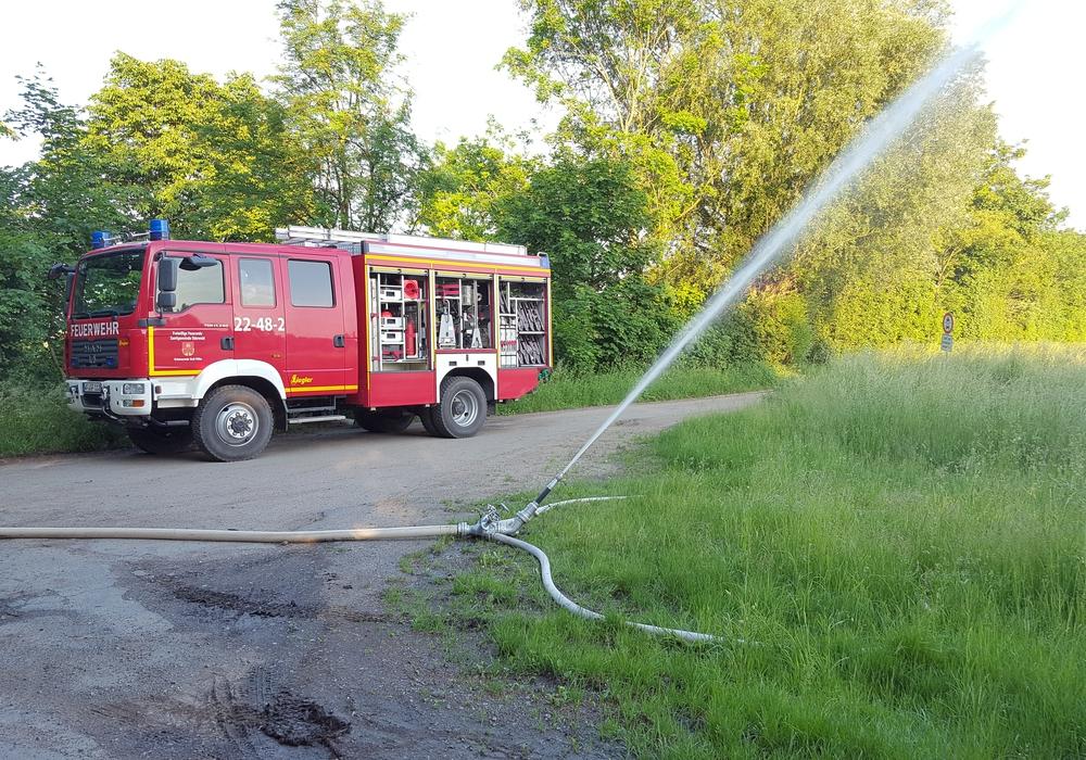 Feuerwehr Groß Flöthe 24 Stunden im Einsatz. Foto: Privat