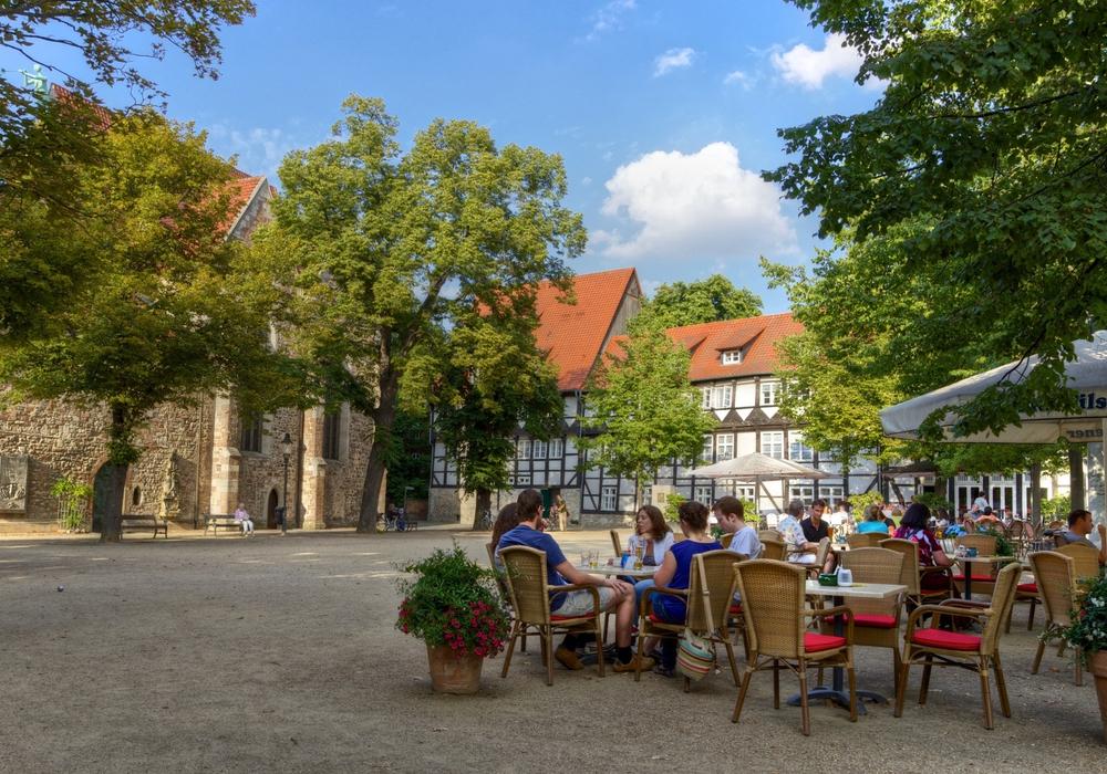 Auf insgesamt über 10.000 Stühlen können die Gäste in der Löwenstadt Platz nehmen. Foto: Braunschweig Stadtmarketing GmbH/Gerald Grote