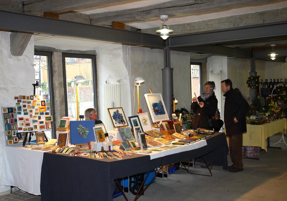 Am kommenden Wochenende findet der 16. Kunsthandwerkermarkt statt. Foto: Thorsten Raedlein