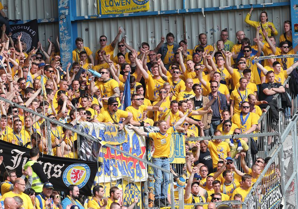 Nur die mitgereisten Fans zeigten sich erstligareif. Foto: Agentur Hübner