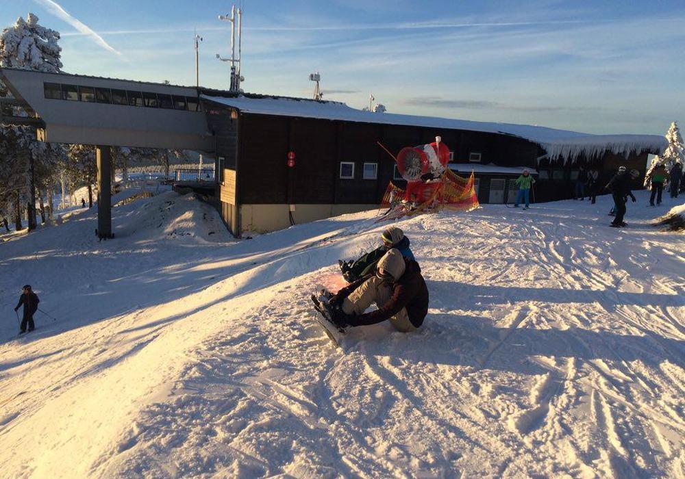 Das erste Wintersport-Wochenende verlief erfolgreich. Foto: Dominik Kröppelin