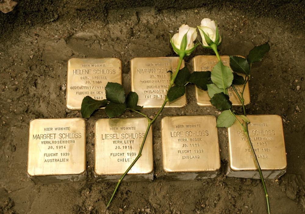 So wie hier an der Halchterschen Straße soll auch weiterhin den Opfern des Naziregimes gedacht werden. Archivfoto: Rühland