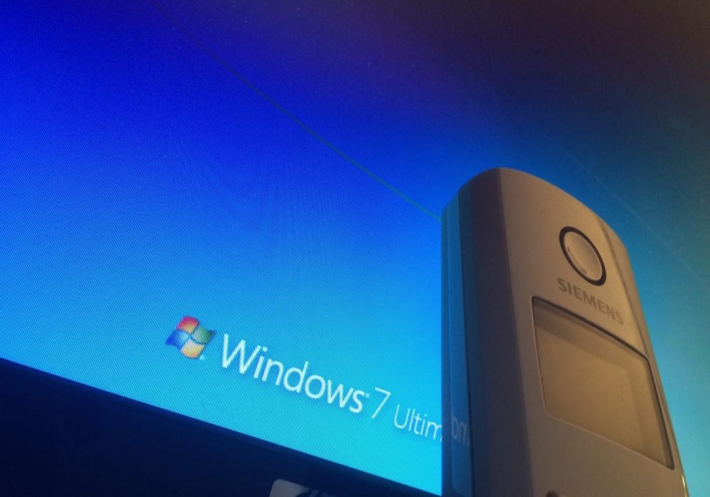 Falsche Microsoft Mitarbeiter am Telefon Foto: Anke Donner