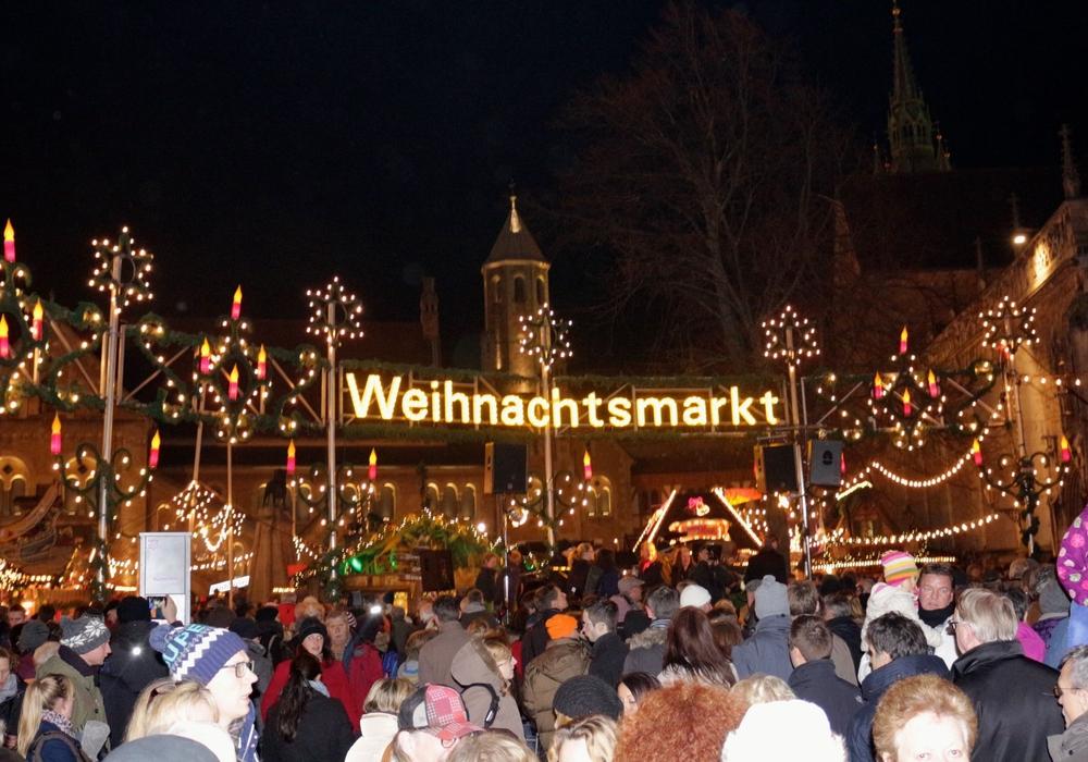 Am 29. November öffnet der Braunschweiger Weihnachtsmarkt seine Pforten. Foto: Archiv