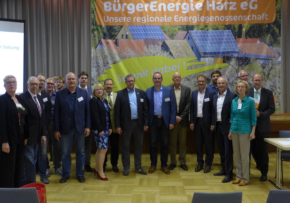 Die BürgerEnergie Harz eG wurde nun gegründet. Fotos: BürgerEnergie Harz eG i.G.