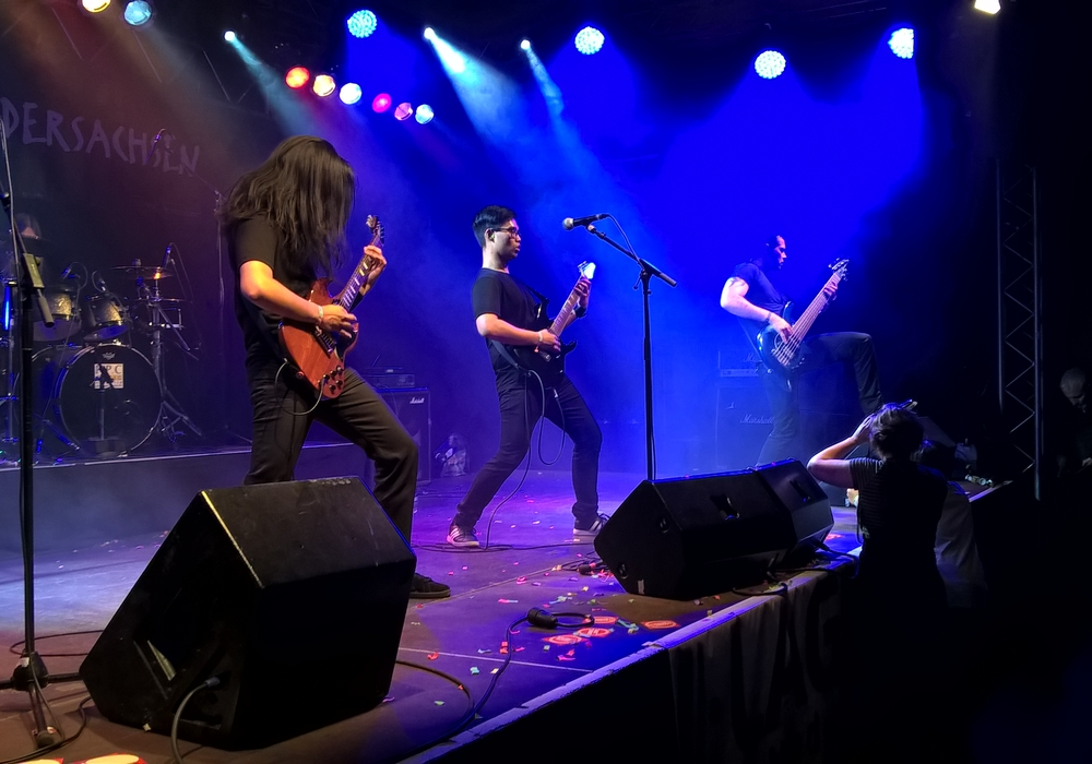 """KYONIC""  beim Landesfinale  ""local heroes"" 2016 in Hannover (Foto: Rockbüro)"