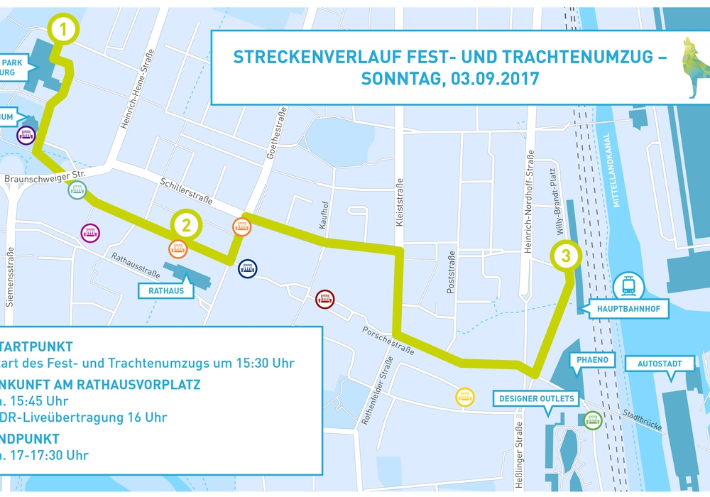 Vom 1. bis 3. September findet in Wolfsburg der 35. Tag der Niedersachsen statt. Foto. Stadt Wolfsburg